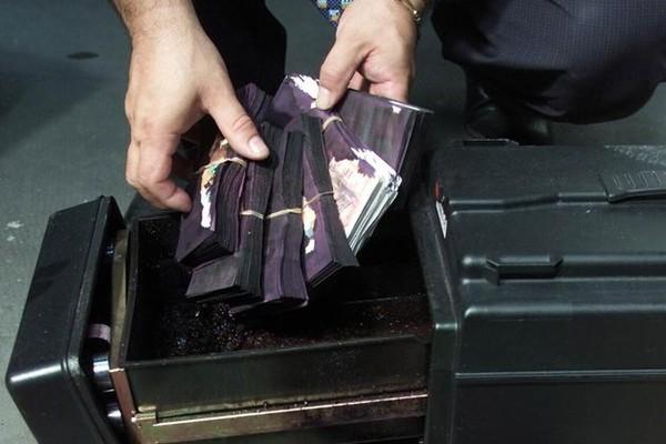 billet de banque noir